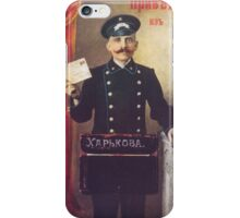 In Imperial Russia, Postman posts you! iPhone Case/Skin