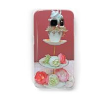 Tea & Peonies  Samsung Galaxy Case/Skin