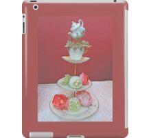 Tea & Peonies  iPad Case/Skin
