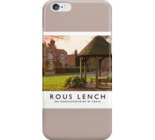 Rous Lench (Railway Poster) iPhone Case/Skin