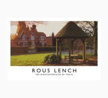 Rous Lench (Railway Poster) Kids Tee
