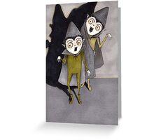 Vampire Elves Greeting Card
