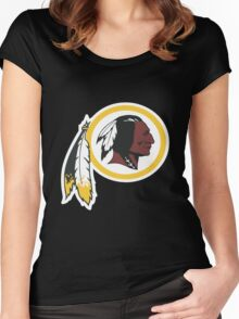 Washington Redskins Women's Fitted Scoop T-Shirt