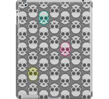 Friendly Vector Skull Repeating iPad Case/Skin