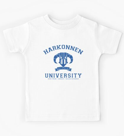 Harkonnen University | Blue Kids Tee