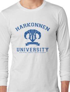 Harkonnen University | Blue Long Sleeve T-Shirt