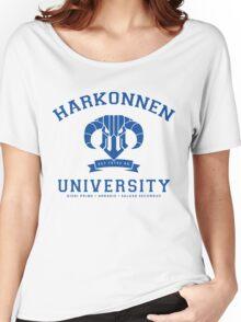 Harkonnen University | Blue Women's Relaxed Fit T-Shirt