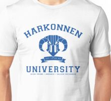 Harkonnen University | Blue Unisex T-Shirt