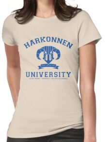 Harkonnen University | Blue Womens Fitted T-Shirt