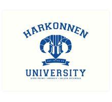 Harkonnen University | Blue Art Print