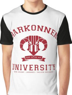 Harkonnen University | Red Graphic T-Shirt