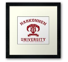 Harkonnen University | Red Framed Print