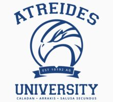 Atreides University | Blue One Piece - Short Sleeve