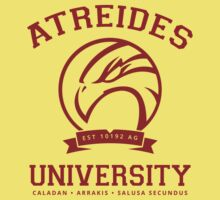 Atreides University   Red Kids Tee