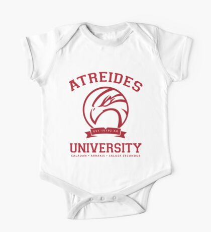 Atreides University   Red One Piece - Short Sleeve