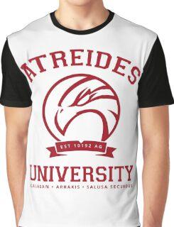 Atreides University | Red Graphic T-Shirt