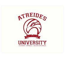 Atreides University | Red Art Print