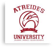 Atreides University | Red Metal Print