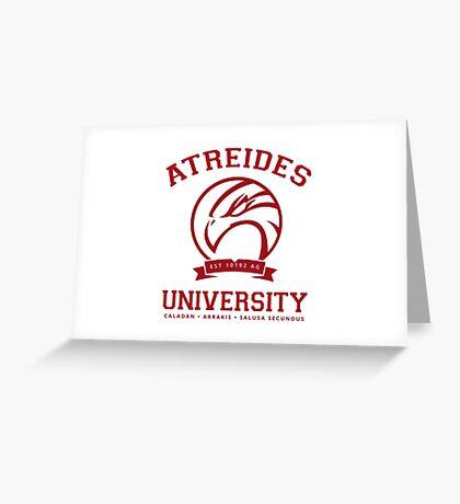 Atreides University | Red Greeting Card