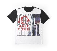 TOKYO GHOUL TYPOGRAPHY Graphic T-Shirt