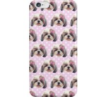 CUTE SHITZU DOG iPhone Case/Skin