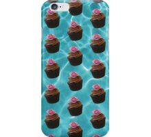Chocolate Cupcakes In A Pool iPhone Case/Skin