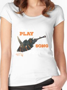 I Shall Play You The Song of My People - Monster Hunter Women's Fitted Scoop T-Shirt