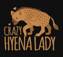 Crazy Hyena Lady Kids Tee