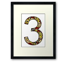 Abstract Three Framed Print