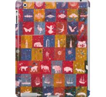 Life in the squares, colors, animals, planes, spaceships, ships iPad Case/Skin