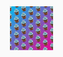 Blue and Pink Cupcake Pattern Classic T-Shirt