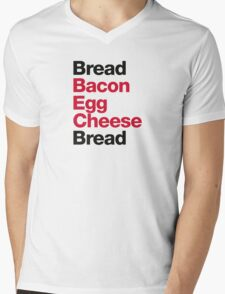Recipe for a BEC Sandwich Mens V-Neck T-Shirt
