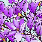 Spring Delight ~ Lilac Magnolias by Diane McWhirter