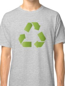 RECYCLE SYMBOL Classic T-Shirt