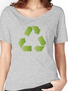 RECYCLE SYMBOL Women's Relaxed Fit T-Shirt