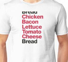 Recipe for a club sandwich Unisex T-Shirt