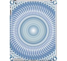 Mandala Flower Blue iPad Case/Skin