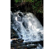 Falls at Springbrook in the Sunlight Photographic Print