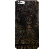 Town and spooky night, dark, night, moon, scary iPhone Case/Skin