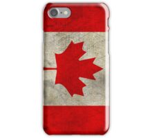 Vintage Canada Flag iPhone Case/Skin