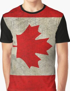 Vintage Canada Flag Graphic T-Shirt