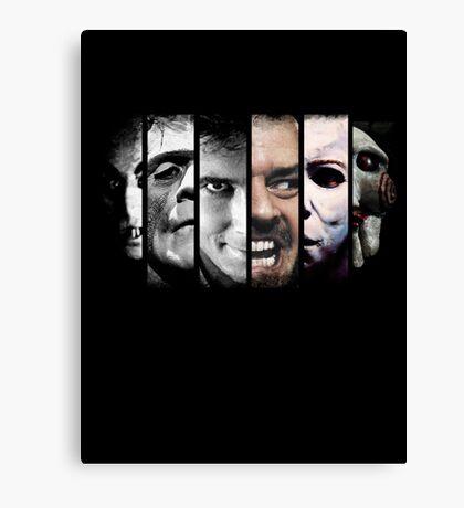 Faces of evil Canvas Print