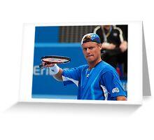 Lleyton Hewitt, Sydney '08 Greeting Card