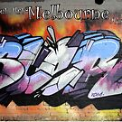 Street Art Melbourne  #112 by bekyimage