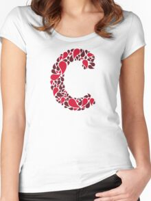 The letter C Women's Fitted Scoop T-Shirt