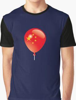 Chinese flag Graphic T-Shirt