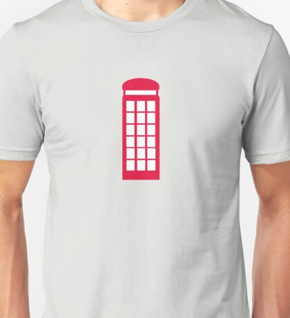 phone booth Unisex T-Shirt