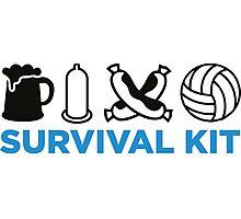 Survival Kit for Men Photographic Print