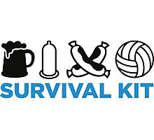 Survival Kit for Men Photographic Print