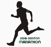 2016 Boston Marathon One Piece - Long Sleeve